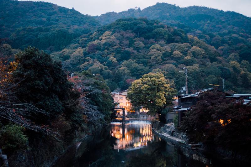 京都嵐山 黃昏 京都單車旅遊攻略 - 日篇 京都單車旅遊攻略 – 日篇 PB070130