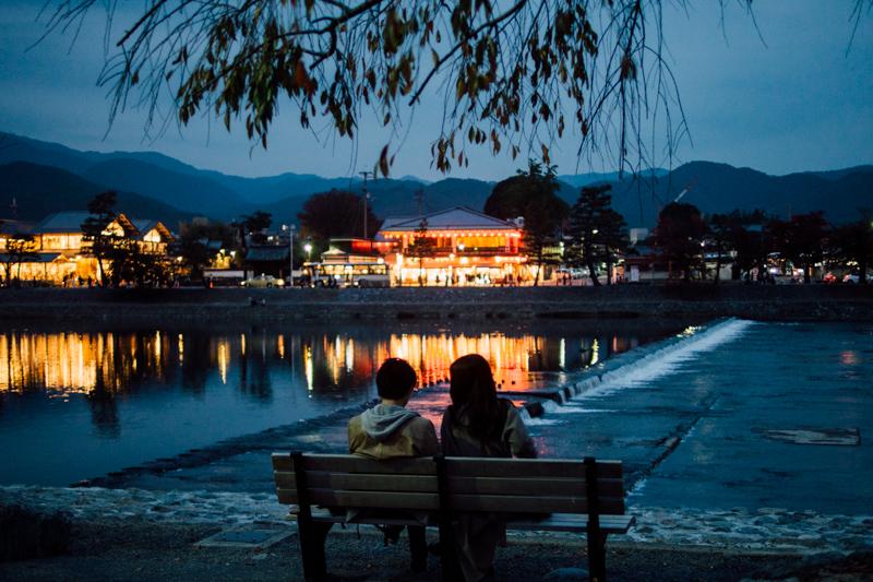 京都嵐山 黃昏 京都單車旅遊攻略 - 日篇 京都單車旅遊攻略 – 日篇 PB070142