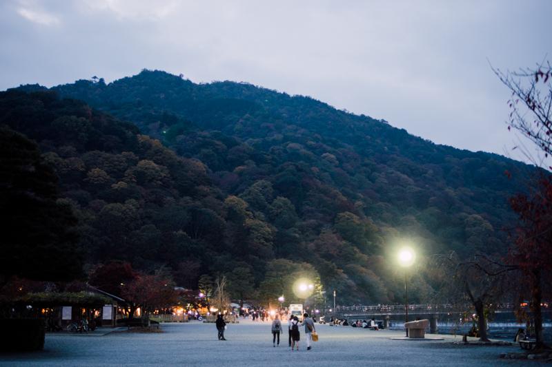 京都嵐山 黃昏 京都單車旅遊攻略 - 日篇 京都單車旅遊攻略 – 日篇 PB070151