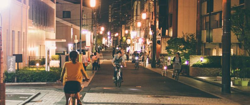 京都單車夜遊  京都單車夜遊 130907 195138