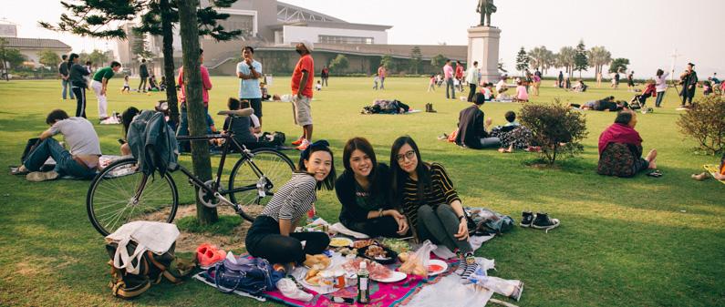 週末單車好去處#00 – 中山紀念草坪