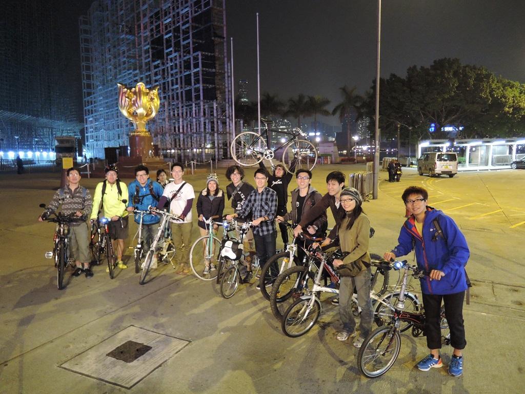 【單車週末夜】<br>~2014 Jan~ 【單車週末夜】14年1月4日 DSCN2850