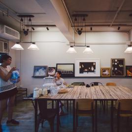 非常舒服和有格調的室內環境,全部由Cyan 親自挑選
