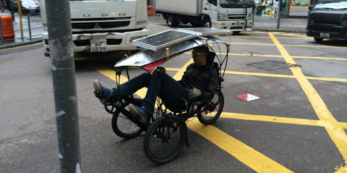 觀塘隱世單車發明家 Gary