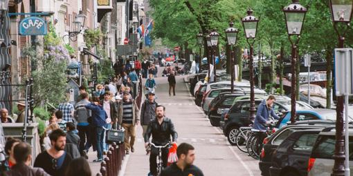 轆轆遊記。在 Amsterdam 踩單車的幾種路