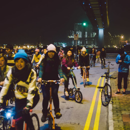 bike the moment  一月單車週末夜 150117 220804 260x260