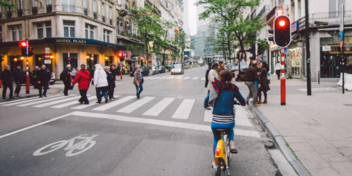 轆轆遊遊。布魯塞爾的各種單車路