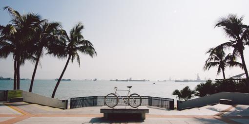 本地單車美景#006 最靚的單車海灘 蝴蝶灣