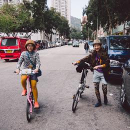 bike the moment 單車髦民集  髦民郵票簿 HK Bike Styles 20140125 143958 260x260