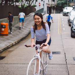bike the moment 單車髦民集  髦民郵票簿 HK Bike Styles 20140727 145407 260x260