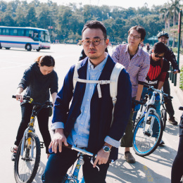 bike the moment 單車髦民集  髦民郵票簿 HK Bike Styles 20141206 112026 260x260