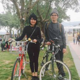 bike the moment 單車髦民集  髦民郵票簿 HK Bike Styles 20150111 155300 260x260
