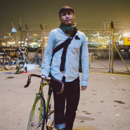 bike the moment 單車髦民集  髦民郵票簿 HK Bike Styles 20150117 215833 260x260