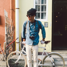 bike the moment 單車髦民集  髦民郵票簿 HK Bike Styles 20150209 161242 260x260