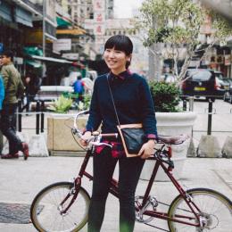 bike the moment 單車髦民集  髦民郵票簿 HK Bike Styles 20150307 153610 260x260