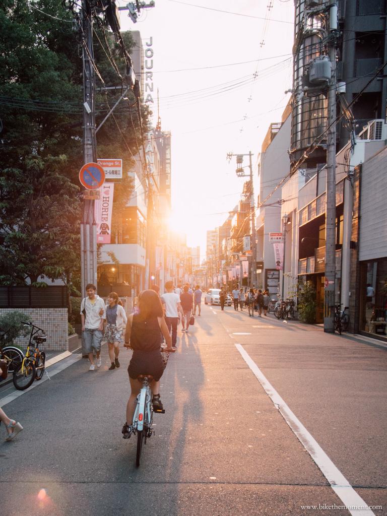 bike the moment 大阪  那些年 我們去旅行踩單車遇到最靚的日落黃昏 130910164358