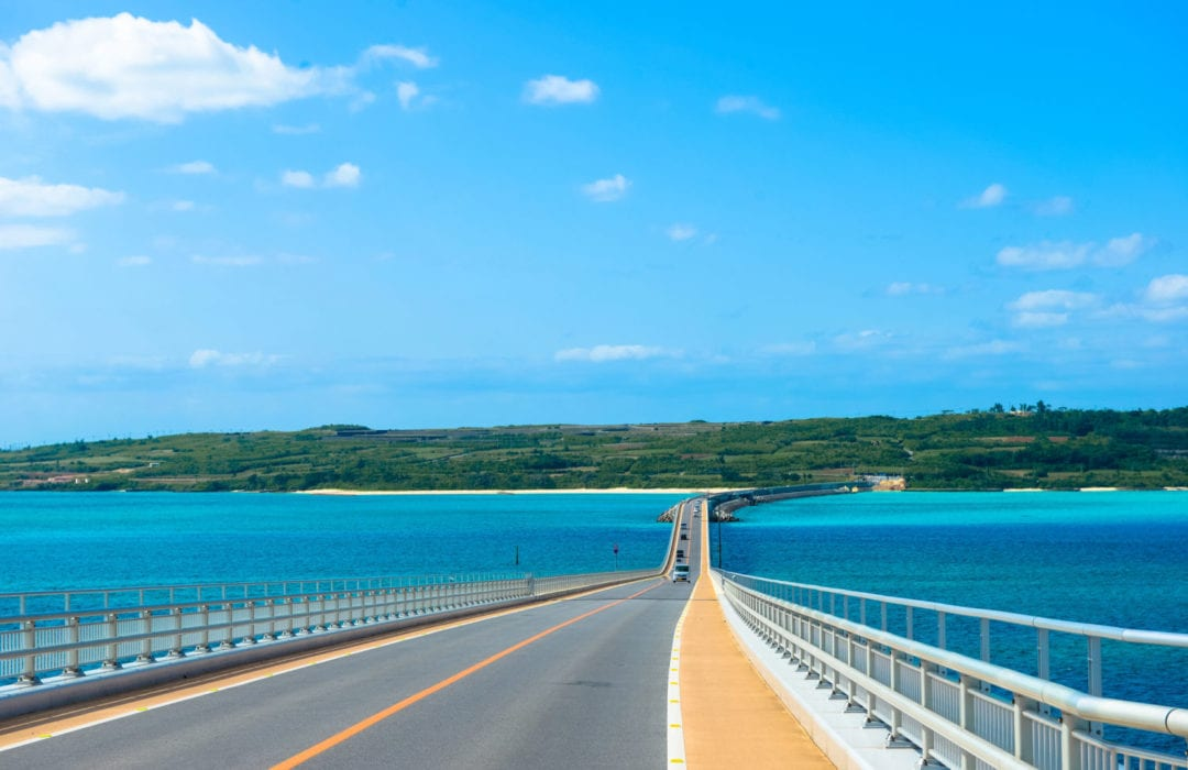 「日本最靚最長的單車徑大橋﹣沖繩伊良部大橋」
