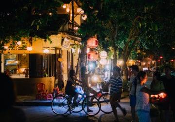 越南會安 單車遊記 (夜篇)