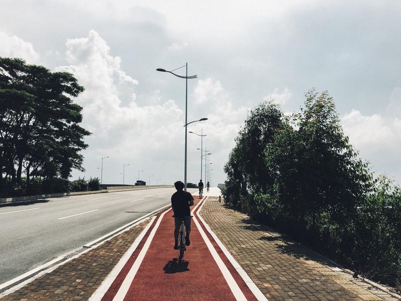 南沙 bike the moment  尋找南國の藍。沖繩單車郵輪之旅2016 160617 151806