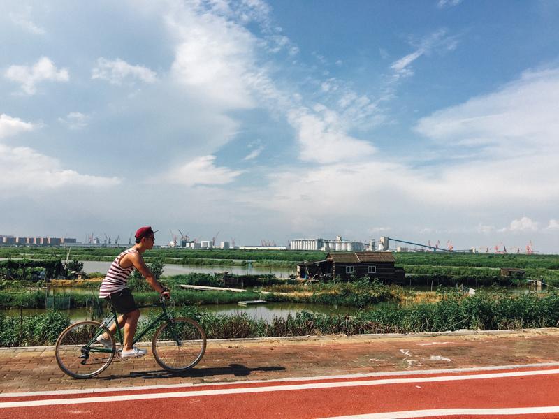 南沙 bike the moment  尋找南國の藍。沖繩單車郵輪之旅2016 160617 153640