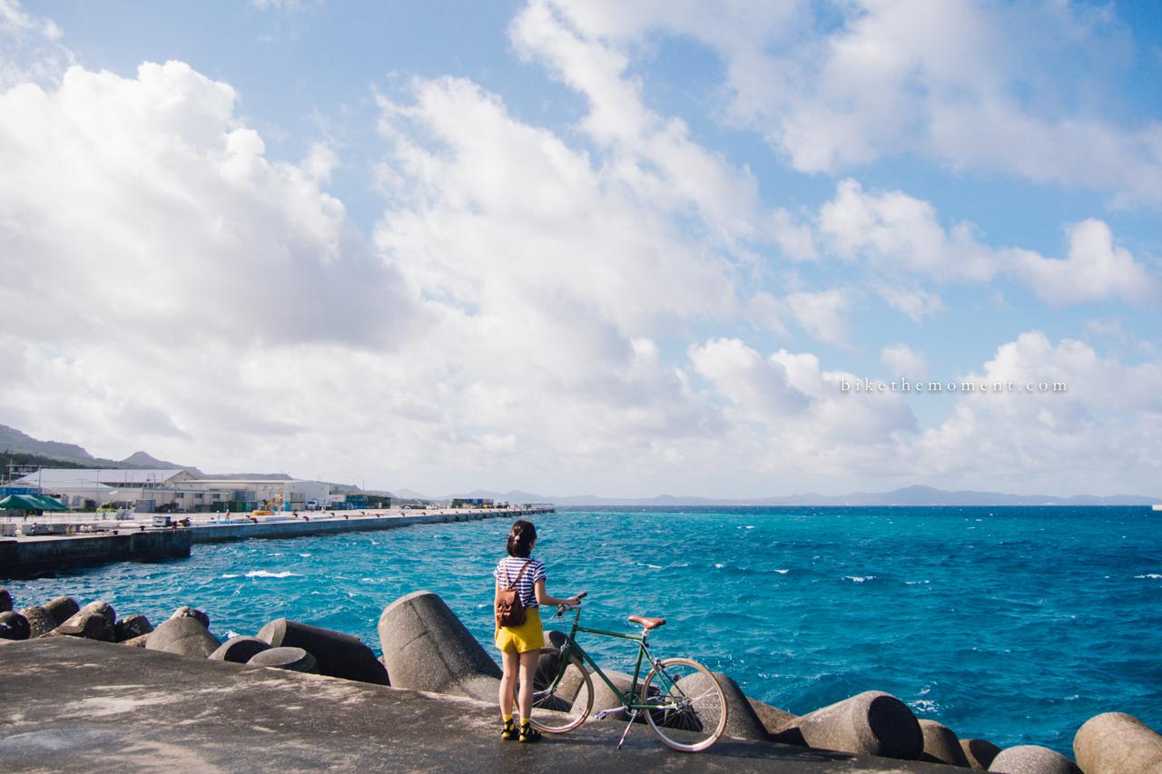 本部港 本部町 沖繩 okinawa motobu bike the moment 本部港 髦民沖繩遊記#01。本部港の燈塔 Motobu Port Lighthouse 160712 073422