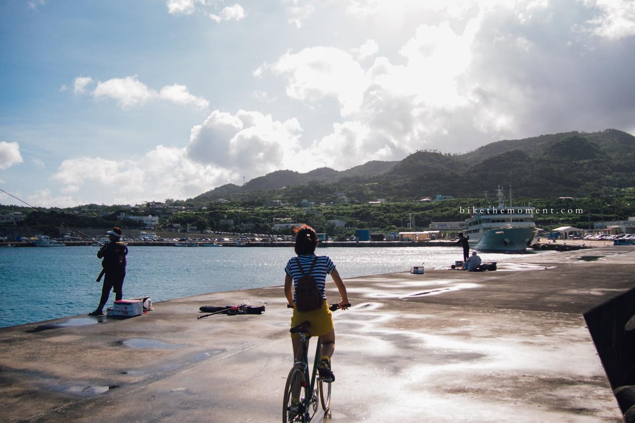 本部町 沖繩 okinawa motobu bike the moment 本部港 髦民沖繩遊記#01。本部港の燈塔 Motobu Port Lighthouse 160712 073816 3 2