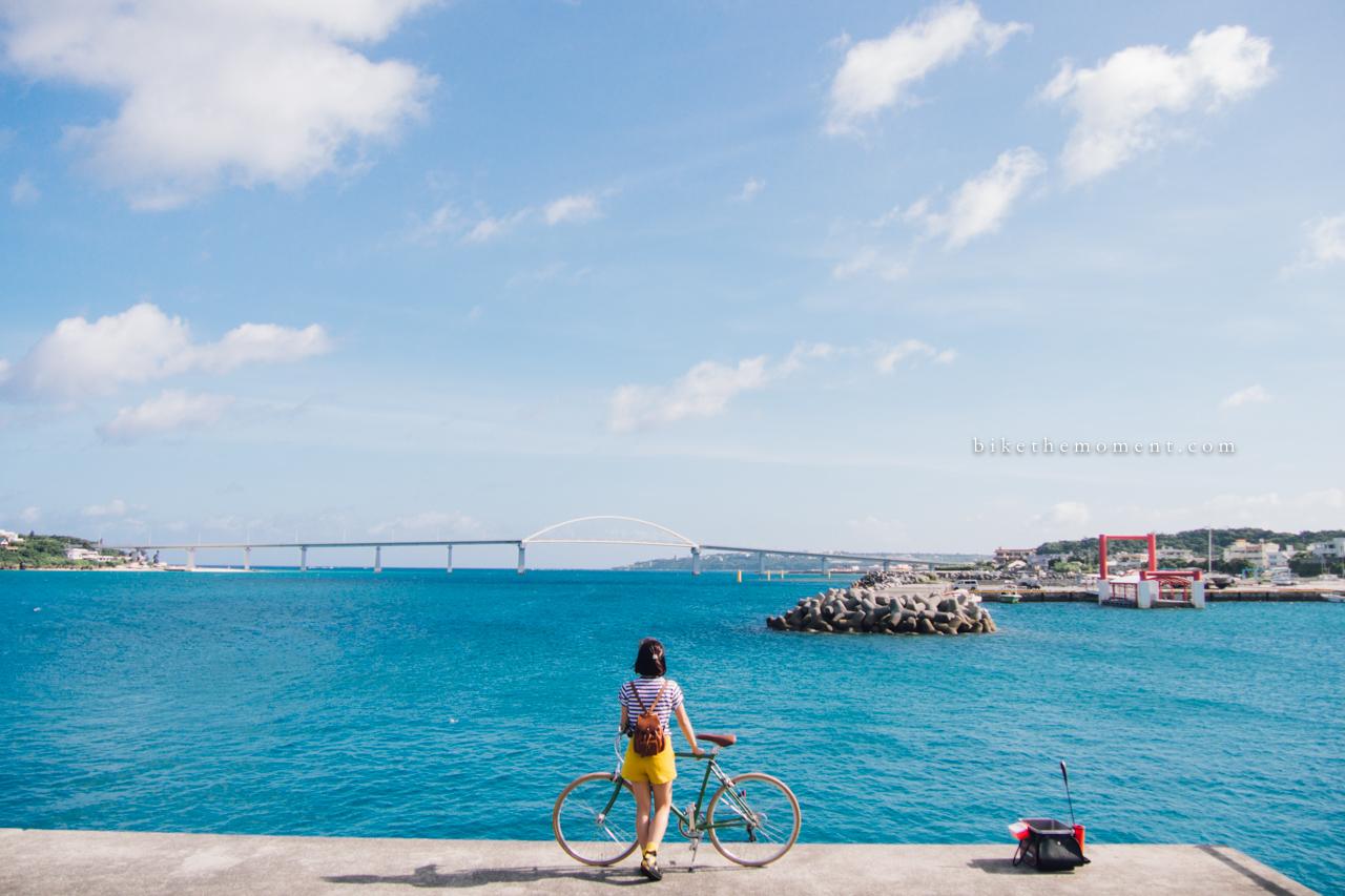 本部町 沖繩 okinawa motobu bike the moment 本部港 髦民沖繩遊記#01。本部港の燈塔 Motobu Port Lighthouse 160712 074026