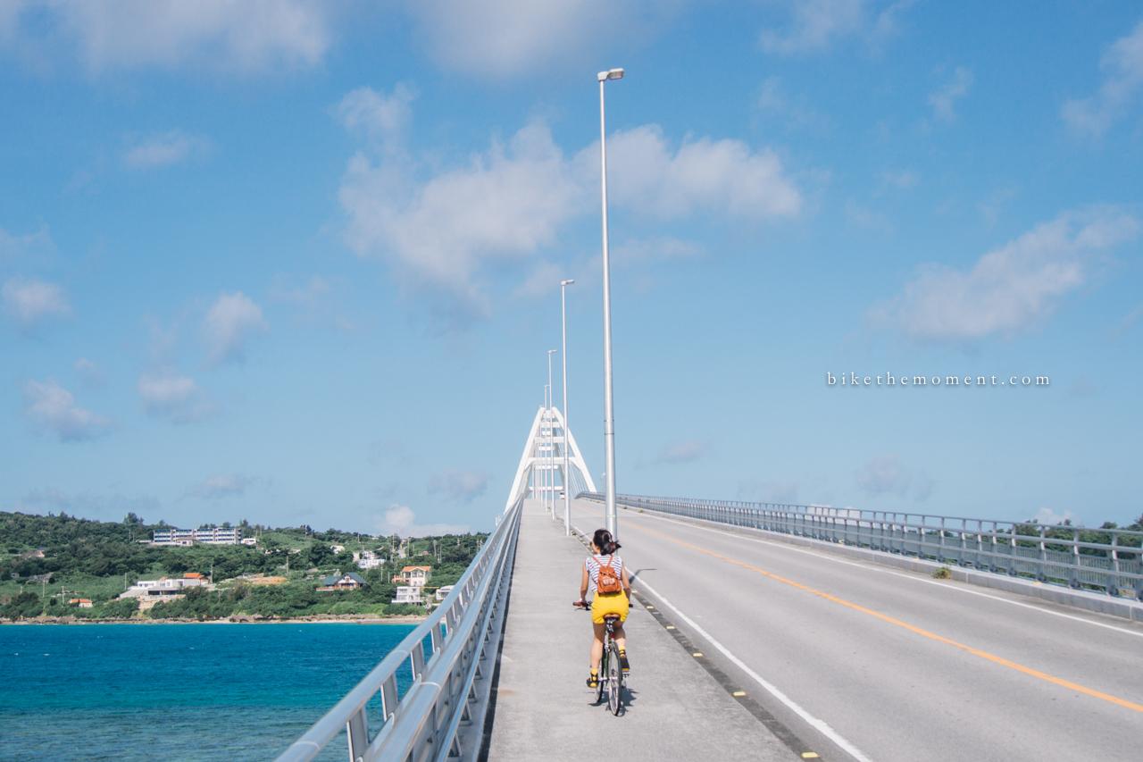 瀬底大橋 本部町 沖繩 okinawa motobu bike the moment 瀬底大橋 髦民沖繩遊記#02。本部町瀬底大橋 160712 075617