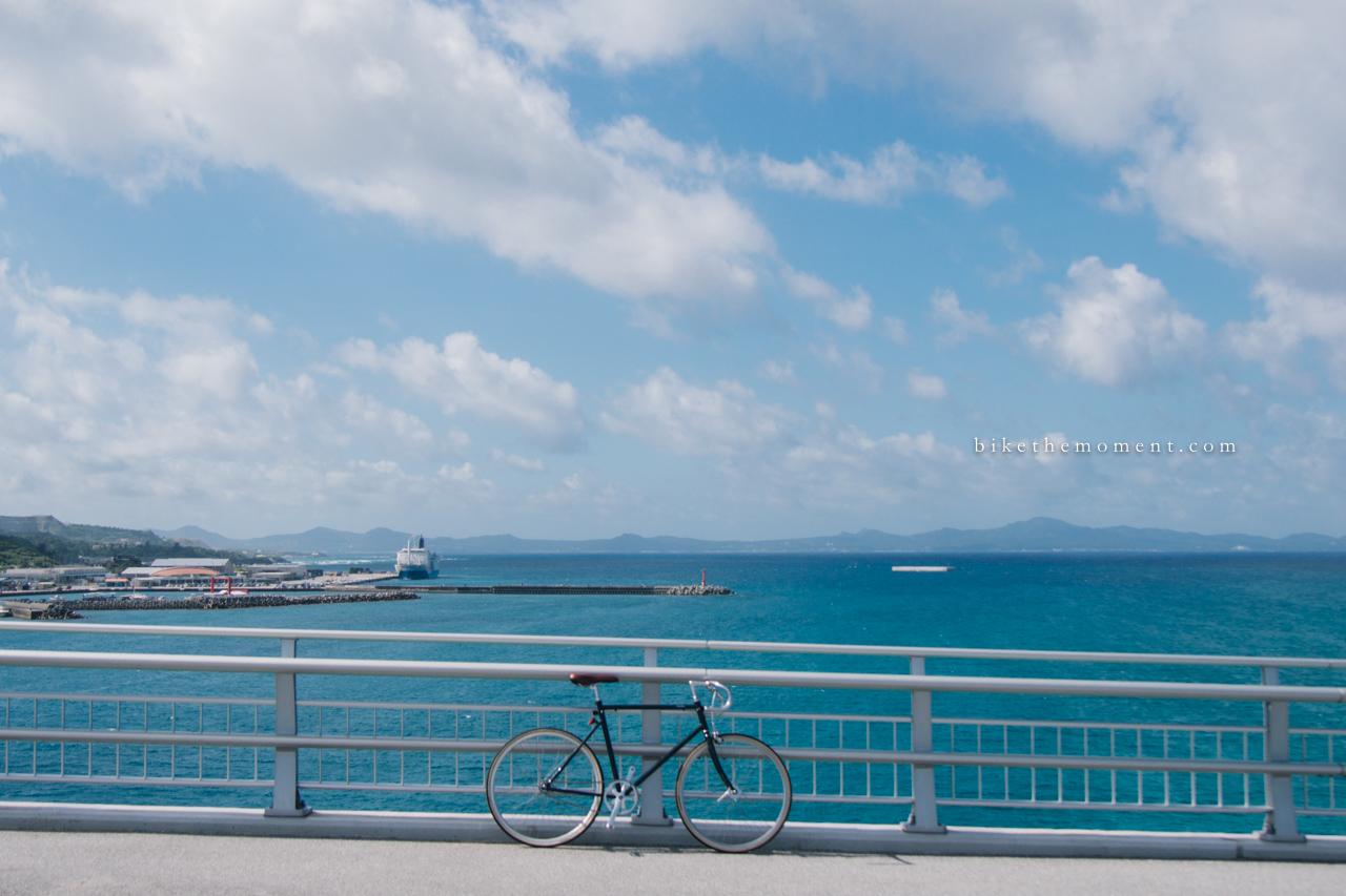 本部町 沖繩 okinawa motobu bike the moment 瀬底大橋 髦民沖繩遊記#02。本部町瀬底大橋 160712 080907