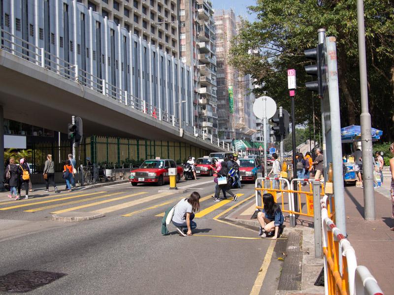 籌旗。香港市區單車代步研究 P1080490