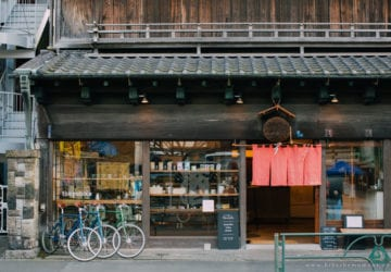 八十年木屋中的 tokyobike 總店 – tokyobike Rentals Yanaka
